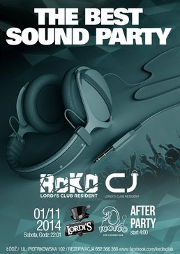 The Best Sound Party 1.11.2014