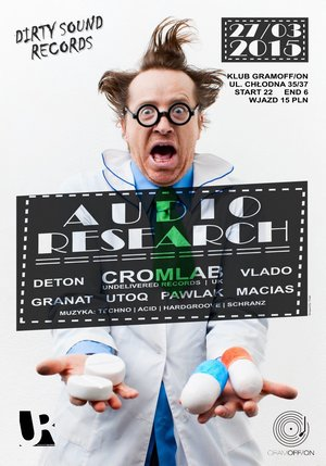 27.03.2015 | AUDIO RESEARCH with CROMLAB (UK) @ Klub GramOFF/ON
