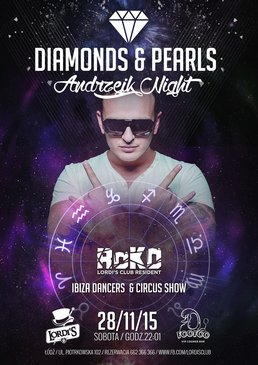 Roko Presents: Diamonds & Pearls - Ibiza Dancers & Circus Show!