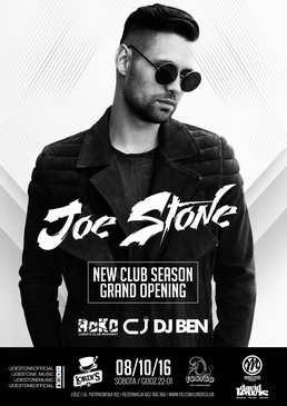Joe Stone ! New Season Grand Opening