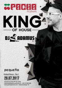 King Of House by DJ Adamus bilety
