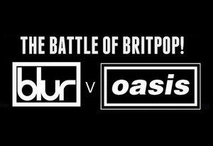 BLUR vs. Oasis: Band Battle live