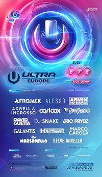 Ultra Europe 2018 bilety