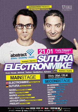 Sutura & Electronmike - Electronic Festival
